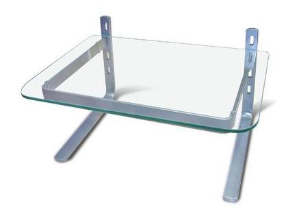 Ideia Decorar Mesa do computador limpa - Conheça o suporte de mesa para monitores ideiadecorar.com suporte de mesa para monitor3