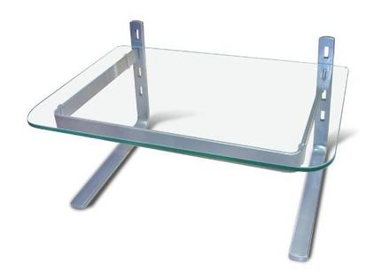 Mesa do computador limpa - Conheça o suporte de mesa para monitores