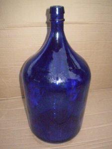 Ideia Decorar Barato, simples e bonito: Decoração até R$ 25,00 ideiadecorar decoracao garrafao azul de vinho para decoracao