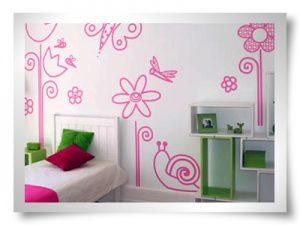 Ideia Decorar Decoração barata: adesivos para a parede Adesivos de parede 13