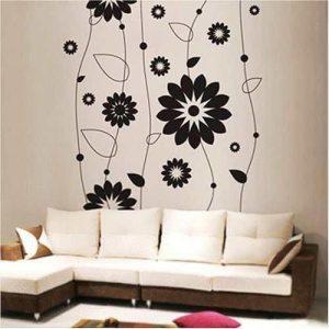 Ideia Decorar Decoração barata: adesivos para a parede Adesivos de parede 4