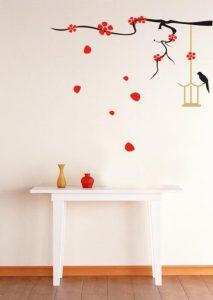 Ideia Decorar Decoração barata: adesivos para a parede Adesivos de parede 5