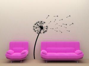 Ideia Decorar Decoração barata: adesivos para a parede Adesivos de parede 6