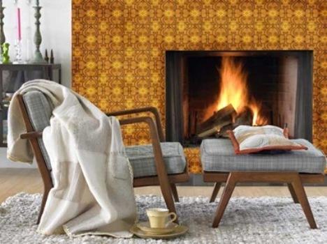 Ideia Decorar Para aquecer a casa no inverno: Lareiras Lareiras 12