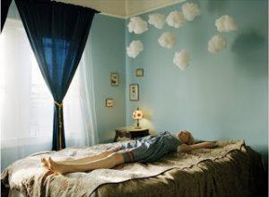 Ideia Decorar Nas nuvens... decoração para quarto infantil Nuvens quarto infantil 21