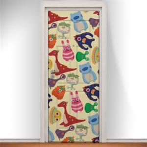 Inspiração: portas com adesivos