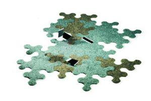Ideia Decorar Tapete ideal para qualquer ambiente Tapete Puzzle 3