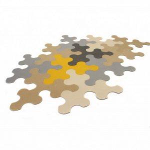 Ideia Decorar Tapete ideal para qualquer ambiente Tapete Puzzle 5