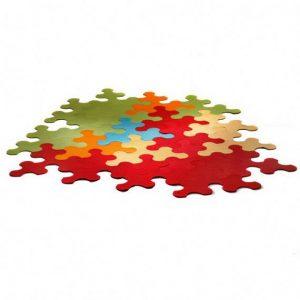 Ideia Decorar Tapete ideal para qualquer ambiente Tapete Puzzle 6