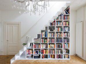 Ideia Decorar Como aproveitar o espaço debaixo da escada escada com nicho 16