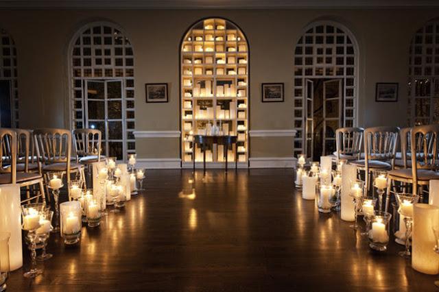 Ideia Decorar Decoração de casamento com velas IdeiaDecorar velasnocasamento 9