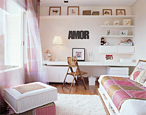 Ideia Decorar Como decorar quarto adolescente feminino 38