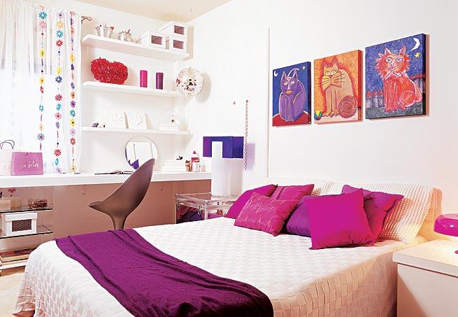 Ideia Decorar Como decorar quarto adolescente feminino Como decorar quarto adolescente feminino
