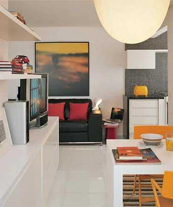 Ideia Decorar Dicas de decoração para quem divide apartamento decoracao de apartamento de solteiro