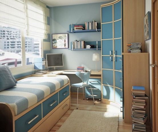 Ideia Decorar 10 ideias para decorar quartos pequenos quarto pequeno 2