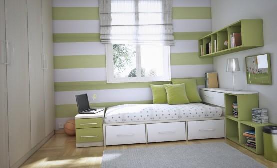 Ideia Decorar 10 ideias para decorar quartos pequenos quarto pequeno 3