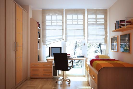 Ideia Decorar 10 ideias para decorar quartos pequenos quarto pequeno 4