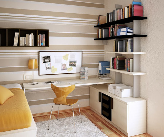 Ideia Decorar 10 ideias para decorar quartos pequenos quarto pequeno 7