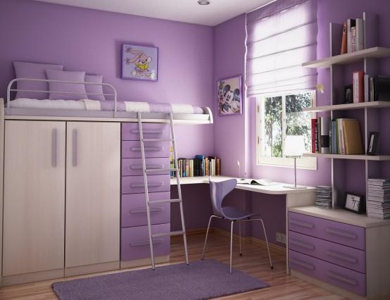 Ideia Decorar 10 ideias para decorar quartos pequenos quarto pequeno1
