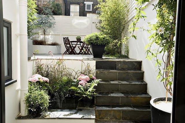 11 ideias para decorar um quintal pequeno -> Como Decorar Um Jardim Pequeno