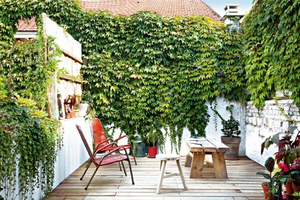 Ideia Decorar 11 ideias para decorar um quintal pequeno quintal pequeno12