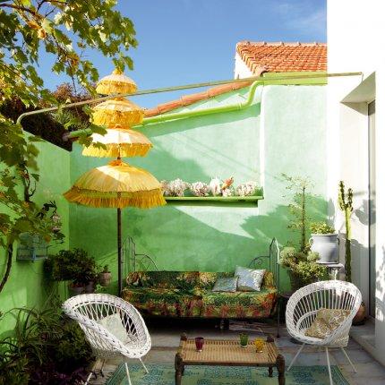 Ideia Decorar 11 ideias para decorar um quintal pequeno quintal pequeno14
