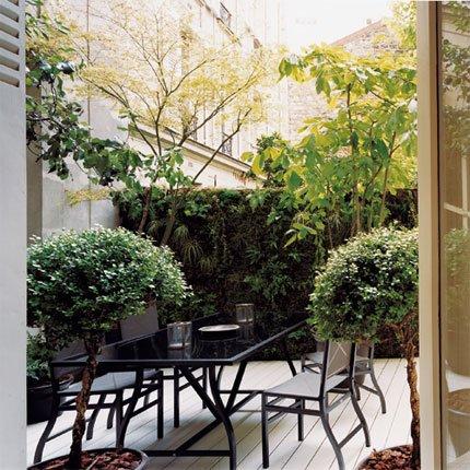 Ideia Decorar 11 ideias para decorar um quintal pequeno quintal pequeno17