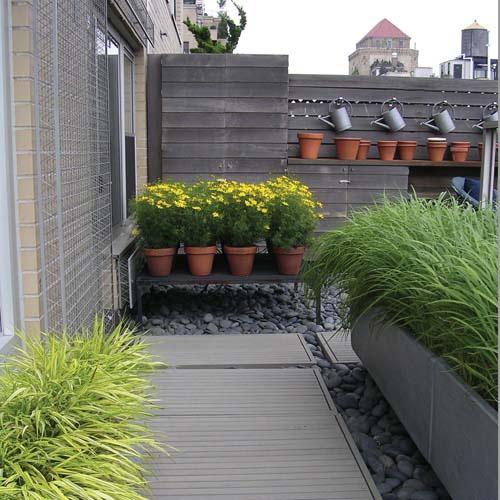 Ideia Decorar 11 ideias para decorar um quintal pequeno quintal pequeno2