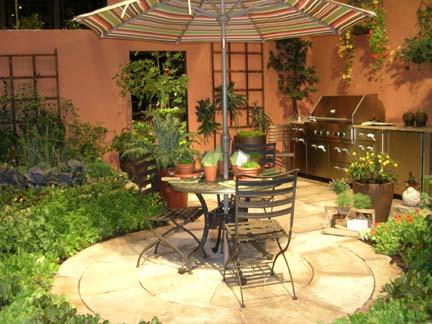 Ideia Decorar 11 ideias para decorar um quintal pequeno quintal pequeno20