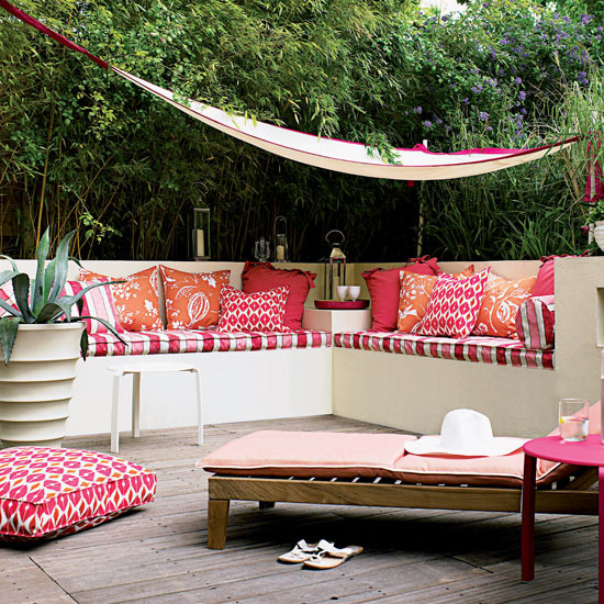 Ideia Decorar 11 ideias para decorar um quintal pequeno quintal pequeno22