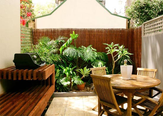 Ideia Decorar 11 ideias para decorar um quintal pequeno quintal pequeno5