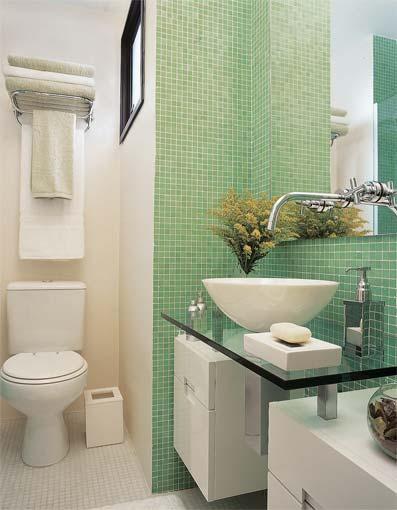 Ideia Decorar Como decorar um banheiro pequeno Como decorar um banheiro pequeno