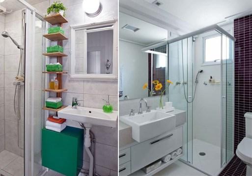 Banheiros pequenos 4 maneiras de ganhar espaço 1