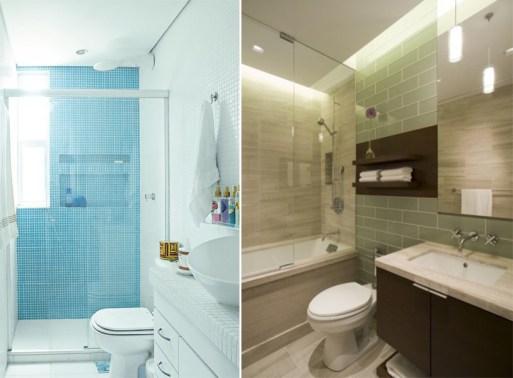Banheiros pequenos 4 maneiras de ganhar espaço 2
