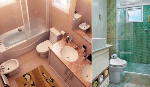 Banheiros pequenos 4 maneiras de ganhar espaço 3