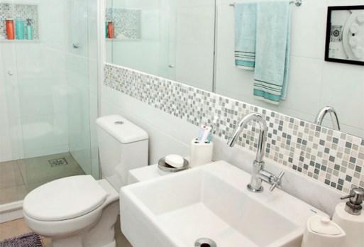 Ideia Decorar Banheiros pequenos: 4 maneiras de ganhar espaço Banheiros pequenos 4 maneiras de ganhar espaço