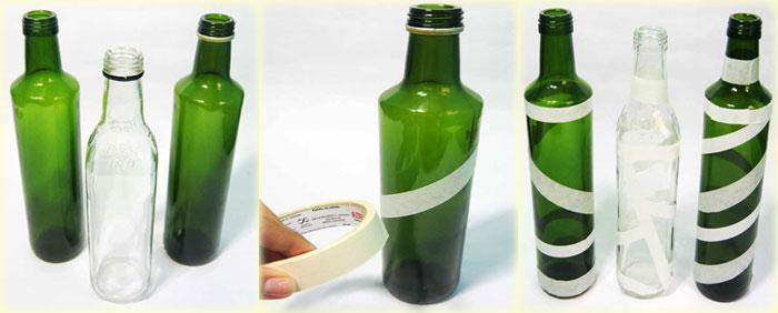 Passo a passo Aprenda a decorar garrafas de vidro