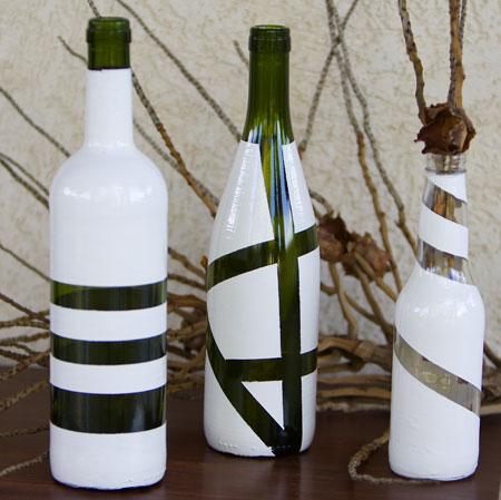 Passo a passo aprenda a decorar garrafas de vidro (2)
