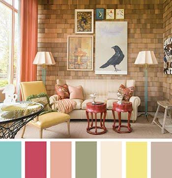 Como escolher a paleta de cores na decoração