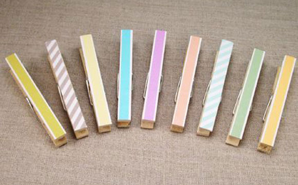 Washi tape como decorar com fitas adesivas coloridas  4