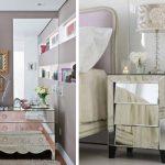 Ideia Decorar Decoração com móveis espelhados Decoração com móveis espelhados 4