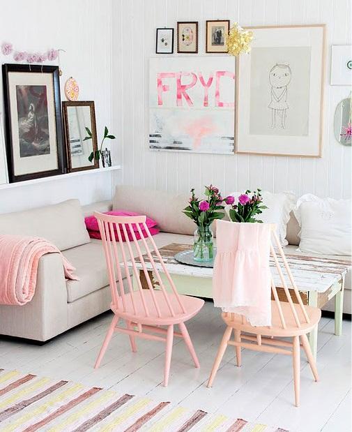 Decoração criativa para a sala de estar 2