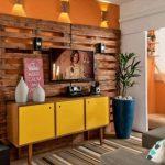 Ideia Decorar Ideias de decoração com pallets Ideias de decoração com pallets 5
