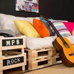 Ideia Decorar Ideias de decoração com pallets Ideias de decoração com pallets 7
