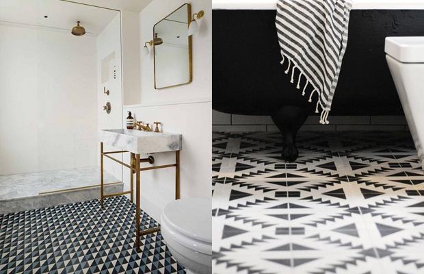 Ideia Decorar Azulejos geométricos azulejos geometricos5