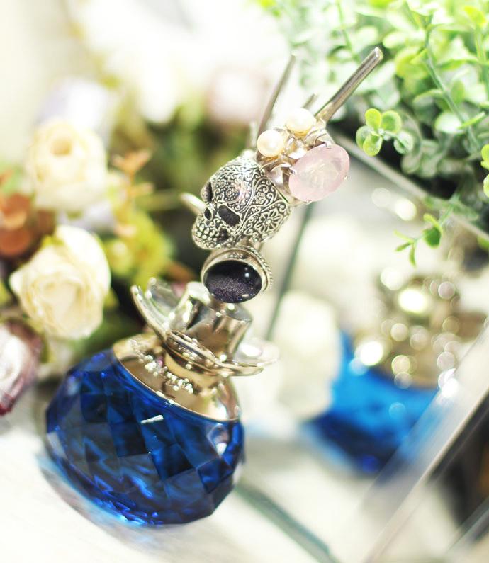 Decoração com vidro de perfume vazio3