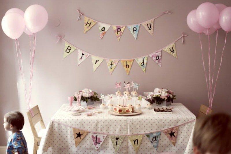 Festas infantis, decoração rápida e barata1