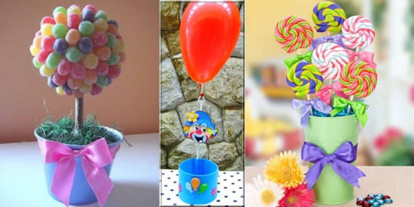 Festas infantis, decoração rápida e barata10