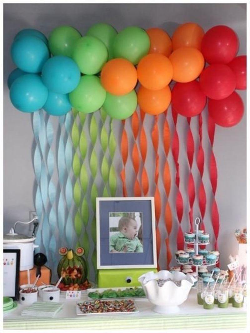 Festas infantis, decoração rápida e barata6