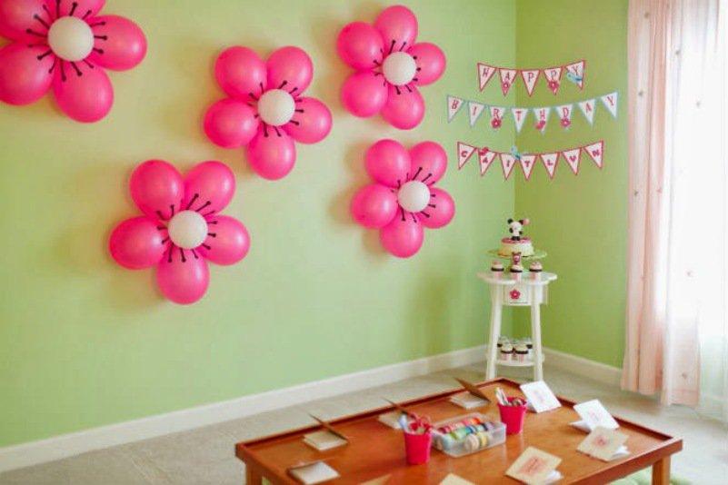 Festas infantis, decoração rápida e barata7